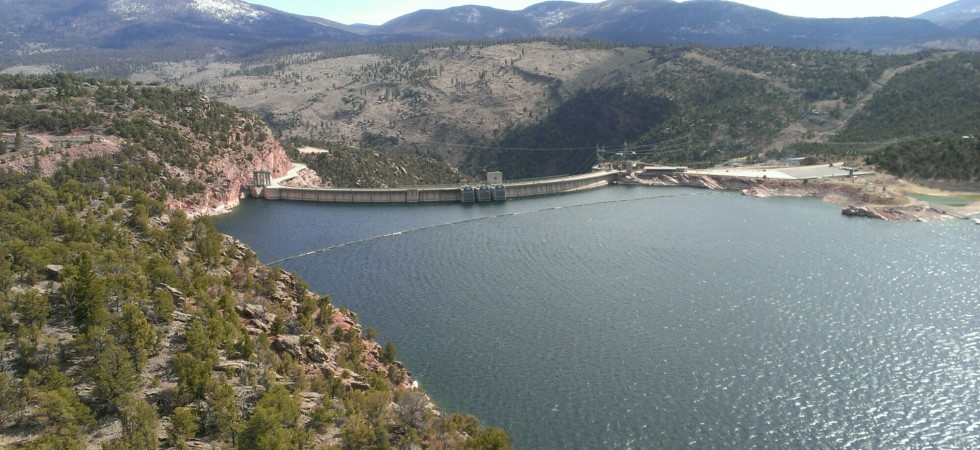 Flaming Gorge Dam Top