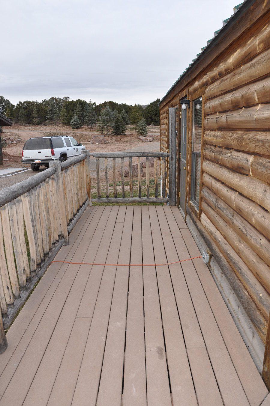 Moose Cabins Deck